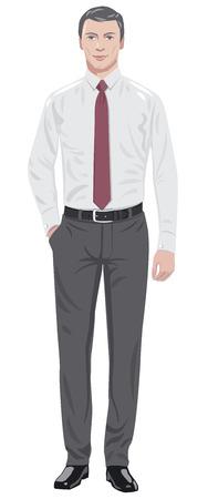 Homme cravate Banque d'images - 44787482