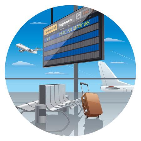 terminal: terminal of airport