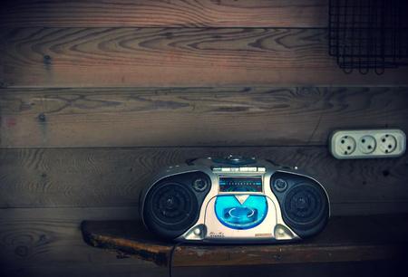 grabadora: vieja grabadora