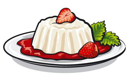 jelly: strawberry dessert