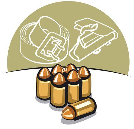 holster: ammunition