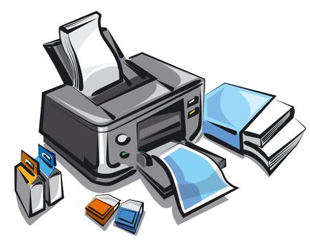 toner: ink jet printer