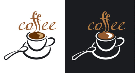 drink coffee: coffee logo