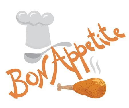 inscription: bon appetite inscription
