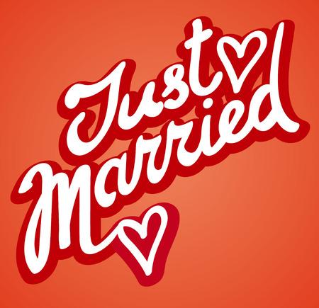 signe juste marié