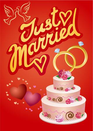 greetings card: wedding greetings card