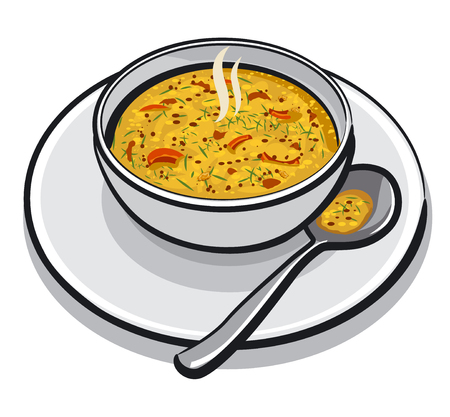 appetizers: hot vegetable soup