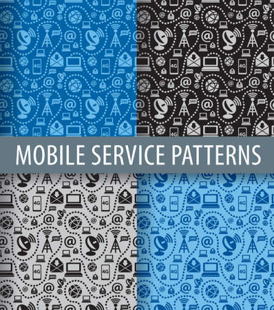 mobile phones: mobile service pattern