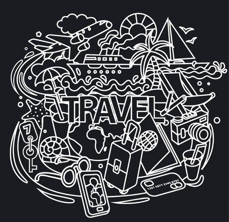 cruiser: travel doodles