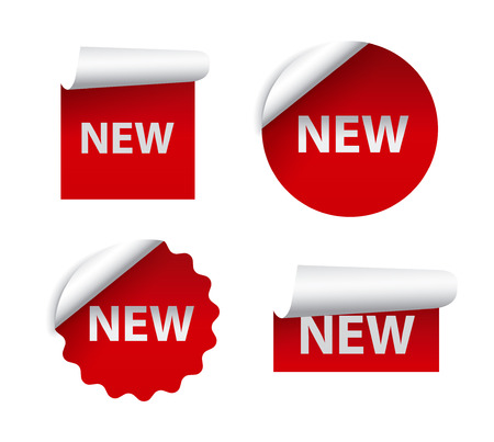 new advertising stickers