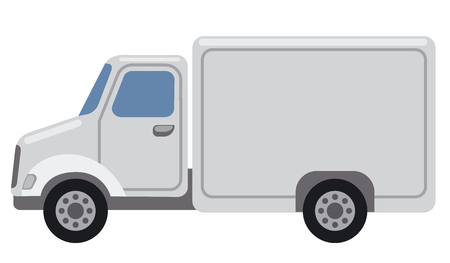 illustration of car delivery service
