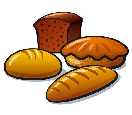 Bakery and bread products Standard-Bild - 132747354
