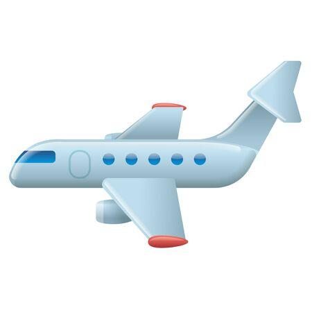 illlustration of the jet airplane passenger icon