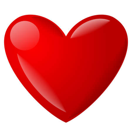 illustration of the heart icon and symbol
