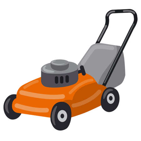 illustration of the lawn mower icon Vecteurs