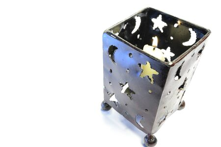 candle holder: decorative candle holder with the starry sky