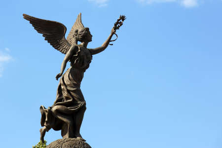 kharkov: the independence monument in Kharkov, Ukraine