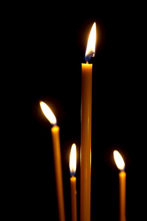 taper: burning in the dark taper candles