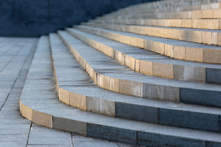 concrete stairs: pure urban concrete stairs