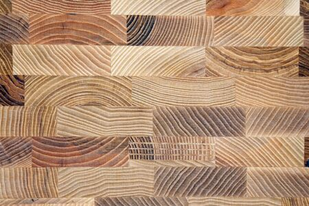 parquet floor layer: the texture of different layers of wood