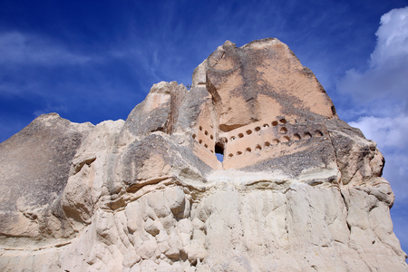 Volcanic rocks in Cappadocia, Turkey