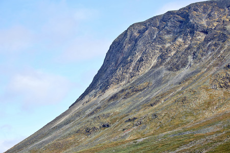 Mountainous terrain in Norway. Jotunheimen National Park