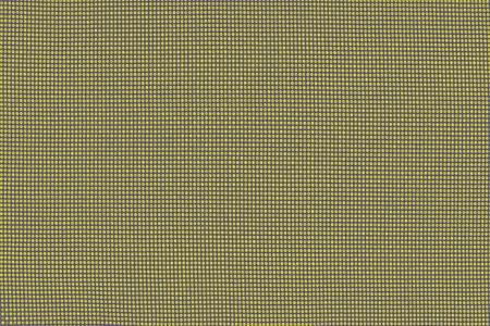 Tessuto colorato in cotone trama. Primo piano del materiale tessile della fabbrica di astrazione dello sfondo
