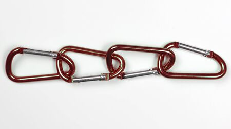 much bonded to each other aluminum carabiners