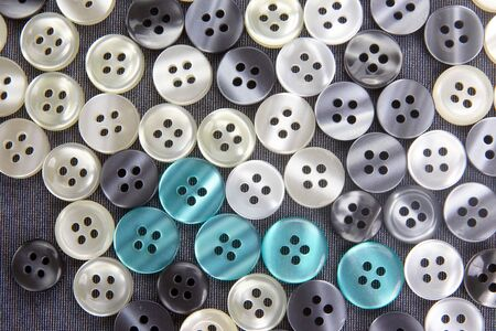 more different mother of pearl buttons