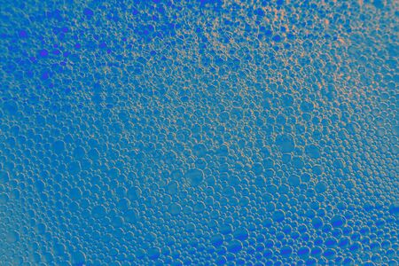 geometric bubbles with soap liquid
