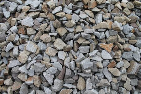 stones, mound, acute, densely poured, gray, brown, teuksturaa