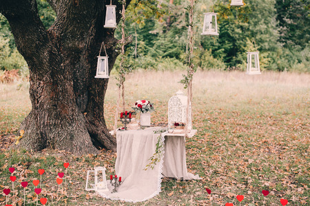 Hochzeit-Dekor