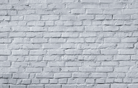 Textura de pared de ladrillo blanco para el fondo