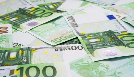 Euro Money Banknotes background texture 免版税图像