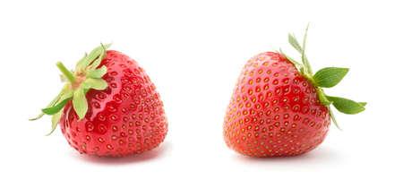 Strawberry isolated on white background. 免版税图像