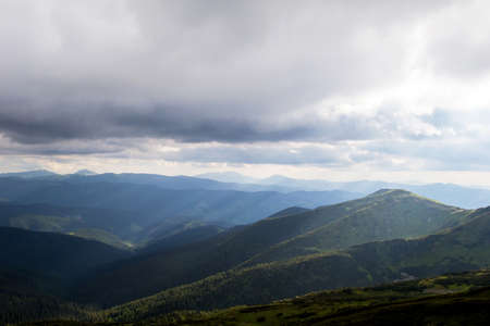 carpathian: Carpathian mountains Ukraine Stock Photo