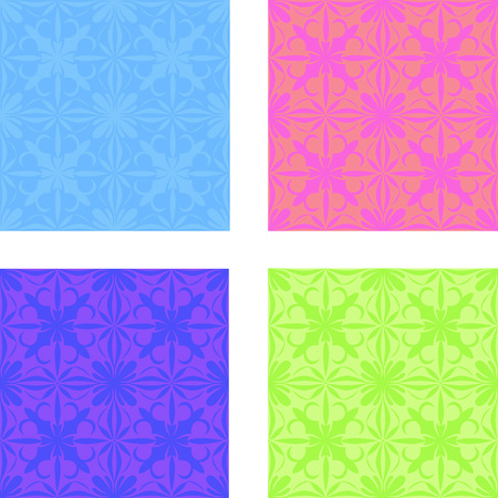 Illustration of a colored pattern, vector image