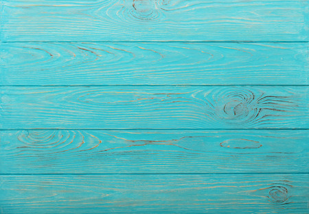Wooden aged background of azure color. Selective focus. Stock fotó