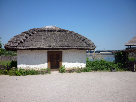 Small house where the cossacks lived