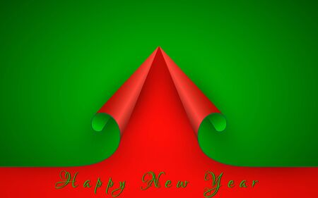 New Year paper background.
