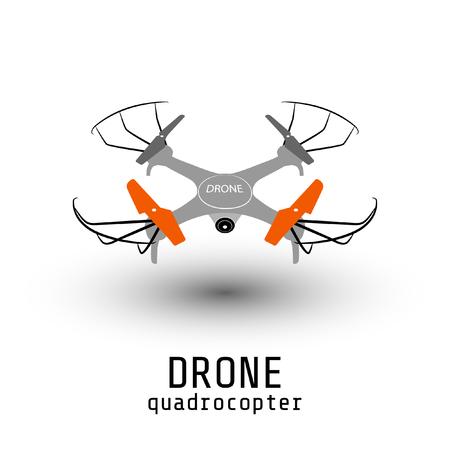 drone quadrocopter. Illustration