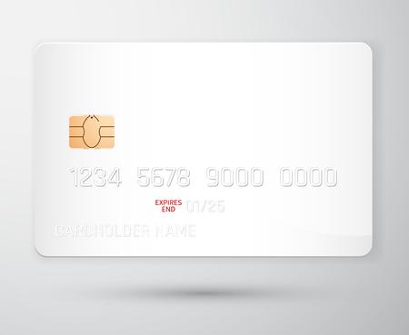 Credit card mockup. Realistic detailed credit cards set abstract design background. Front template. Money, payment symbol. Vector illustration EPS10. Illustration