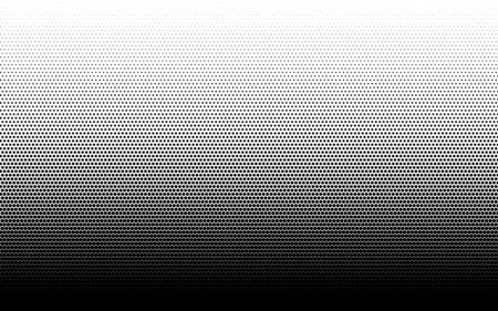 Halftone dots background gradient. Monochrome abstract geometric dots background in pop art style. Vector illustration. Иллюстрация