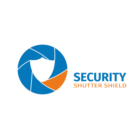 The logo of the company of video surveillance systems