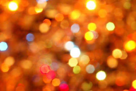 abstract background of holiday lights photo