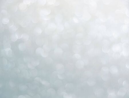 pale silver natural bokeh for background Stock Photo