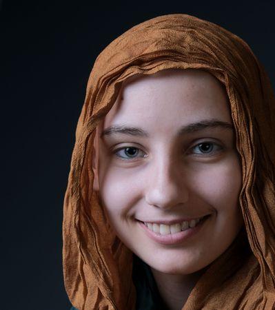cancer survivor girl smiling photo