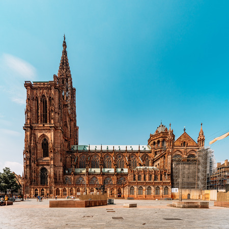 The Notre-Dame de Strasbourg cathedral