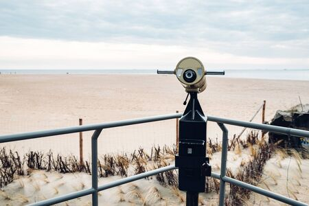 viewpoint on the beach in Hel