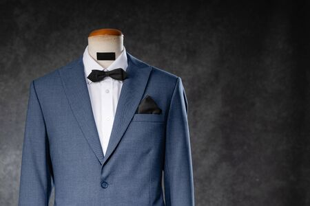 Men's suit on a mannequin Banque d'images